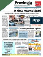 La Provincia Pavese 22 Agosto 2010