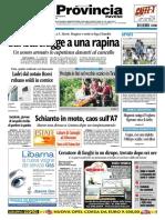 La Provincia Pavese 30 Agosto 2010