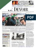 Le Devoir 29 30 juillet 2014