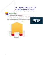 COURS CALCUL FONDATIONS