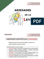 VARIEDADES DE LA LENGUA_Apuntes_Alumnos