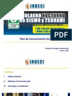 SIMULACRO DE SISMO NOCTURNO 26 FEBRERO 2011
