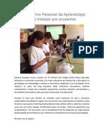 PLE (Entorno Personal de Aprendizaje) para trabajar por proyectos