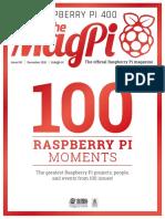 MagPi100 MagPi RaspberryPi 100th Issue