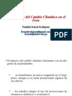 Economia del Cambio Cliamtico en el Peru