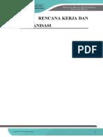 006 - Bab v Rencana Kerja Dan Organisasi