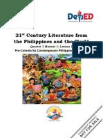 21Sst-century-literature-Q1-Module-1-Lesson-1