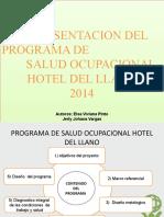 PRESENTACION P.S.O HOTEL DEL LLANO