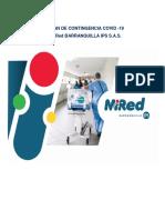 PL-UR-002 PLAN DE CONTINGENCIA COVID-19 MiRed IPS-V1