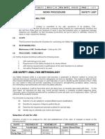 11 - Job Safety Analysis Procedure