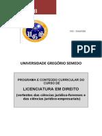2008 - LICENCIATURA EM DIREITO - W97