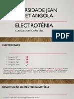 Aula 1 electrotecnia