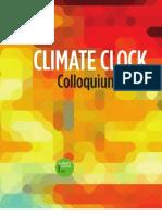 Climate Clock Colloquium