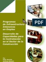 Programas infraestructura intensivos empleo -  contratacion en el sector de la construccion-Guia