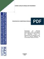 PERCEPÇÃO DE COMPETÊNCIA PESSOAL DE TENISTAS