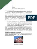 Cultura II. Patriomonio Historico Cultural. Cristina Loaiza