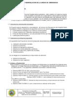 Memoria y Especificaciones  revisadas  y corregidas de   COMUNICACIONES HAMA Abril de IE