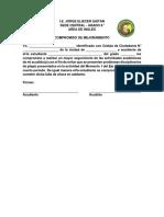 Foliio 21 - Formato Compromiso Plagio