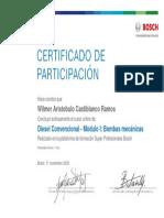 Diesel Convencional - Modulo I Bombas mecánicas_Certificado