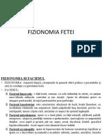 fiozomia fetei