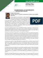 Karam Calderon 2010 Importancia de Determinantes sociales de la salud