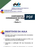 Aula 3 - componentes comandados de máquinas cnc 2