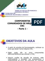 Aula 2 - componentes comandados de máquinas cnc 1