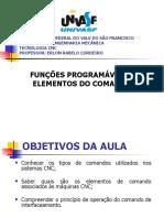 Aula 4 - funções programáveis e elementos de comando