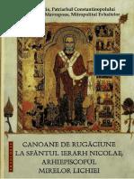 Canoane La Sfantul Nicolae