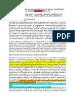 EL SUBALTERNO DESDE LA MIRADA DEL FENÓMENO DE DISCRIMINACION EN LA CIUDAD DE PLATA EN ARGENTINA (versión madrugada lunes)