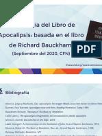 Exposición 1 Teología de Apocalipsis CFN