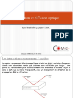 Absorption Diffusion Optique