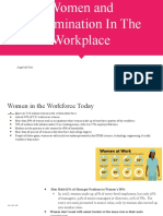 women and discrimination in the workplace