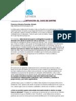 Filosofía y objetivación en el caso de Sartre