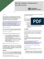 WHO-2019-nCoV-SurveillanceGuidance-2020.3-fre