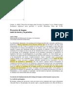 PROYECTOS DE LENGUA ENTRE LA TEORÍA Y LA PRÁCTICA.pdf