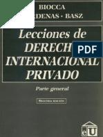 Feldstein de Cardenas - Derecho Internacional Privado Parte General