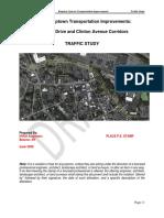 Schwenk Drive, Clinton Avenue Traffic Study
