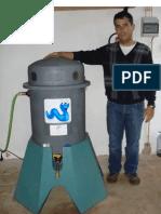 Reactor para formulação de chá de vermicomposto