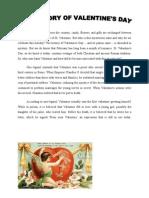 text valentine history
