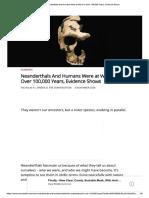 guerra neandertal sapiens