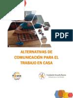 Alternativas de comunicacion para el trabajo en casa_CM