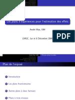 plan fractionnaire