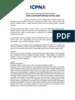 PREMIO DE ARTE CONTEMPORÁNEO ICPNA 2020