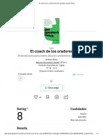 El coach de los oradores Resumen gratuito _ Graham Shaw
