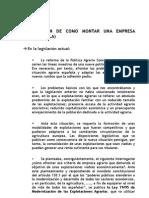 INFORMACION COMO MONTAR EMPRESA C.