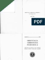 W. de Vries - Zum Kirchenbegriff der Nestorianischen Theologen - 1951