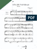 Bernal Jimenez - Sonata de Navidad