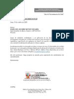 Comisión de Defensa del Consumidor Requiere Información - 19.10.20
