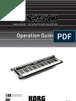 Korg X50 manual